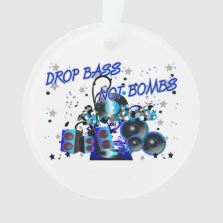 Drop Bass Not Bombs Sub vs War Ornament