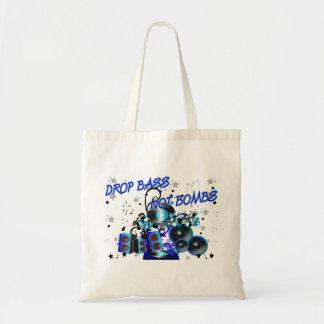 Drop Bass Not Bombs Tote Bag