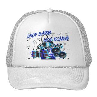 Drop Bass Not Bombs Trucker Hat