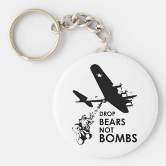 Drop Bears not Bombs Key Chains
