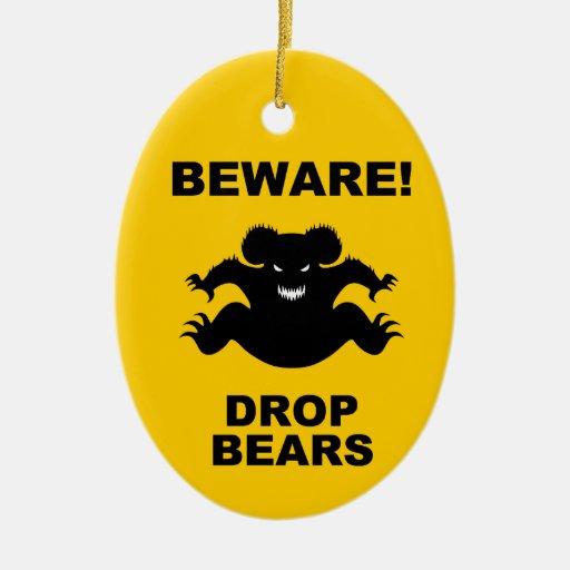 Drop Bears! Ornament