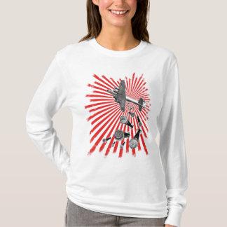 Drop Beats Ladies Long Sleeve T-Shirt
