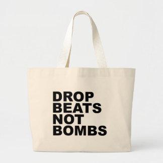 Drop Beats Not Bombs 4 Tote Bag