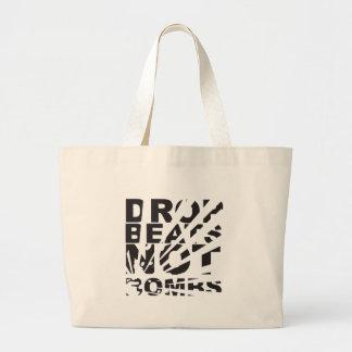 Drop Beats Not Bombs Explosion Bags