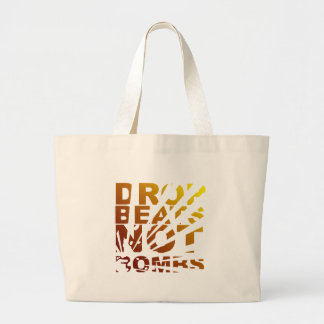 DROP BEATS NOT BOMBS EXPLOSION - DJ BAG