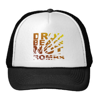 DROP BEATS NOT BOMBS EXPLOSION - DJ TRUCKER HAT