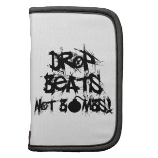 Drop Beats Not Bombs Folio Planner
