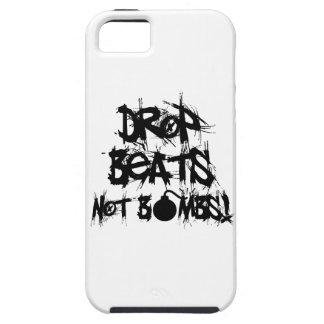 Drop Beats Not Bombs iPhone SE/5/5s Case