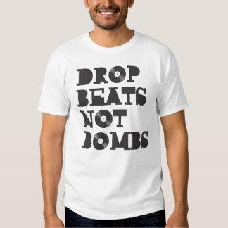 Drop Beats not Bombs Tee Shirt