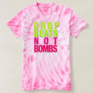 Drop Beats not Bombs Tye-Dye T-Shirt