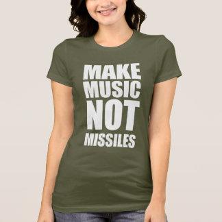 Drop Beats Not Missiles T-Shirt