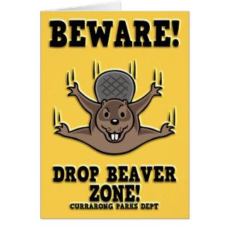 drop-beaver-DKT Card
