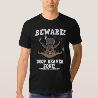 drop-beaver-DKT T-Shirt