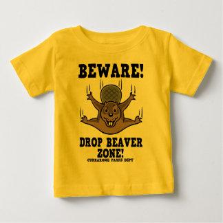 Drop Beaver Zone Baby T-Shirt