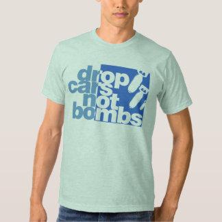 Drop Cars Not Bombs T-shirt