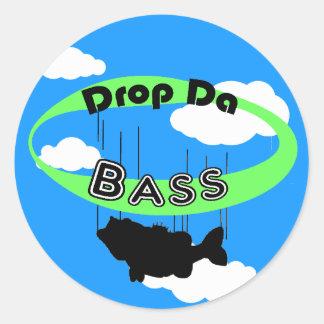 Drop Da Bass Stickers