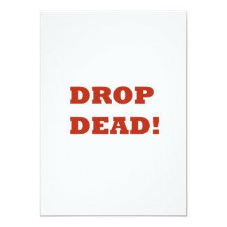 Drop Dead Card
