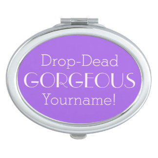 Drop-Dead GORGEOUS custom pocket mirror
