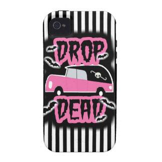 Drop Dead Hearse Case-Mate iPhone 4 Cases
