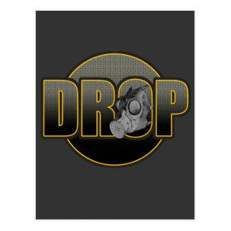 DROP DnB Drumnbass dubstep Jungle Hardstyle DJ Postcard
