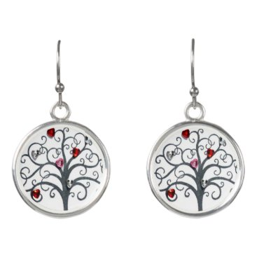 inaayastore Drop Earrings with colorful tree