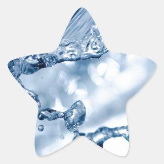 Drop In The Ocean Star Sticker