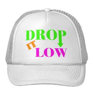 Drop It Low Neon Style Trucker Hat