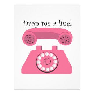 Drop Me A Line! Letterhead