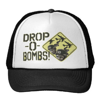 Drop O-bombs by Yes Politics Suck Trucker Hat