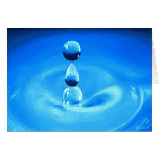 Drop of H2O Card
