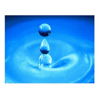 Drop of H2O Postcard