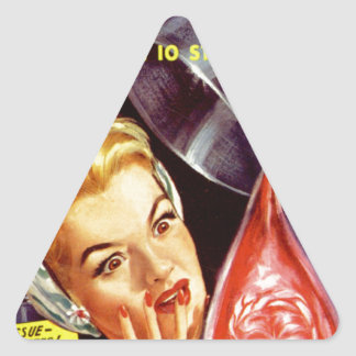 Drop of Me Triangle Sticker
