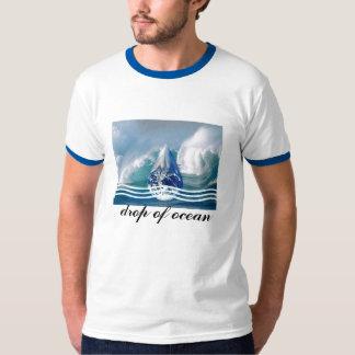 drop of ocean tee shirt