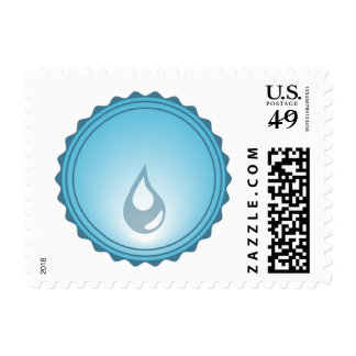 Drop of Water Postage Stamp