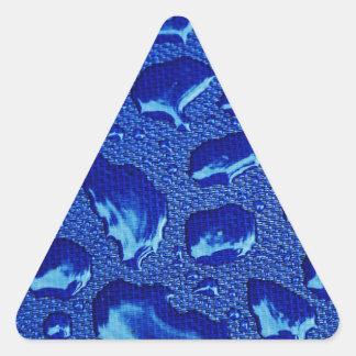 Drop Of Water Rain Drop Triangle Sticker