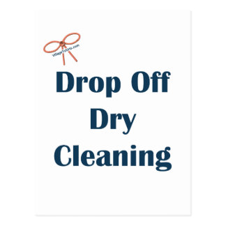 Drop Off Dry Cleaning Reminders Postcard