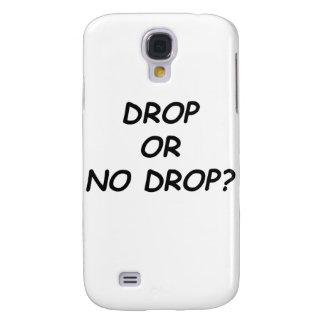 DROP OR NO DROP - BLACK.psd Samsung Galaxy S4 Cover