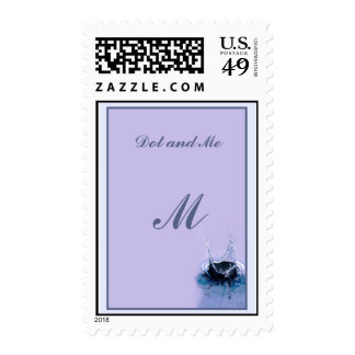 Drop Postage Stamp