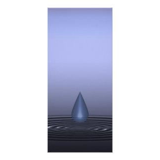 Drop Rack Card Design