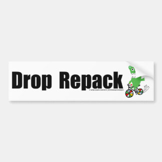 Drop Repack Bumper Sticker