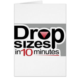 Drop Sizes in 10 Minutes Card