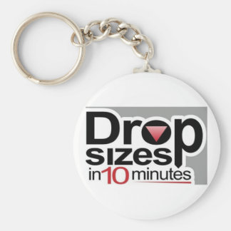Drop Sizes in 10 Minutes Keychain