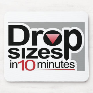 Drop Sizes in 10 Minutes Mouse Pad