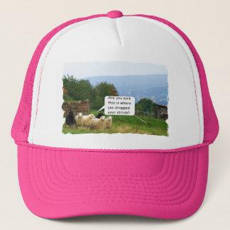 Drop Stitch Sheep Mesh Hat