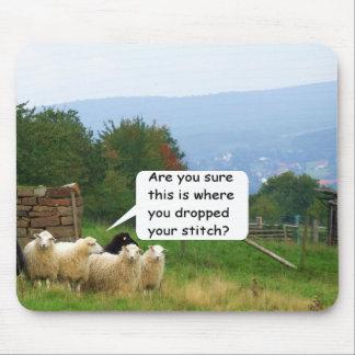 Drop Stitch Sheep Mousepad