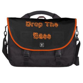 Drop The Bass Laptop Bag