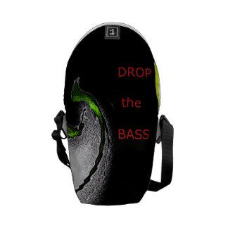 Drop the Bass Messenger Bags