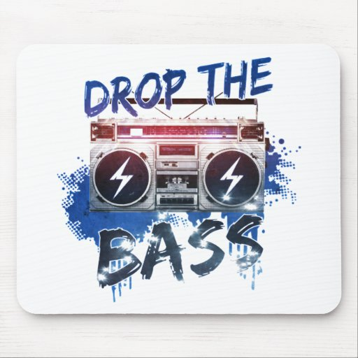 Drop the Bass Mouse Pad
