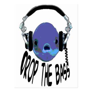Drop the Bass Postcard