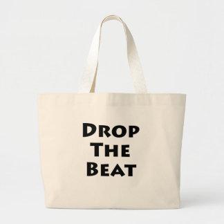 Drop The Beat Canvas Bag